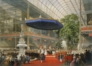 Queen Victoria opens the first international World's Fare in 1851. ( Image in public domain )